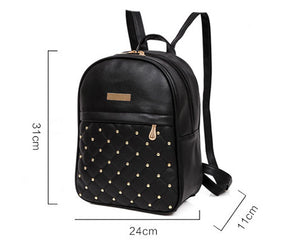 Styleibuy-2019 Women Fashion Backpack PU soft leather casual For Girls -BAG059 - Styleibuy Online Shop