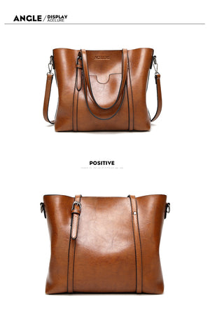 Styleibuy-2019 Women Shoulder Bag Leather High Quality  Large Casuals Tote -BAG071 - Styleibuy Online Shop
