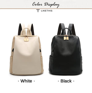 Styleibuy-2019 Women Fashion Backpack PU soft leather casual For Teenage Girls -Bag048 - Styleibuy Online Shop