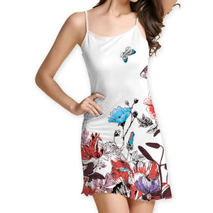 Styleibuy Women Slim Fit Mini Casual Dress - DDSS002 - Styleibuy Online Shop