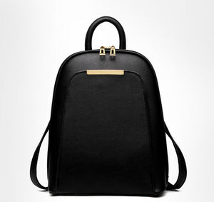 Styleibuy-2019 Women Fashion Backpack PU soft leather casual For Girls -BAG054 - Styleibuy Online Shop