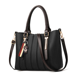 Styleibuy-2019 Women Shoulder Bag Vintage Causal Totes High Quality Dames PU Tassel Handbag -BAG079 - Styleibuy Online Shop