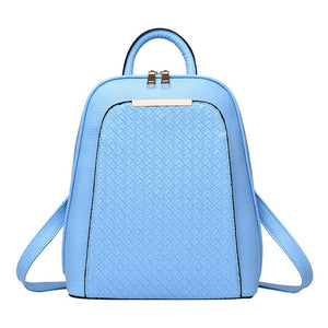 Styleibuy-2019 Women Fashion Backpack PU soft leather casual For Girls -BAG053 - Styleibuy Online Shop