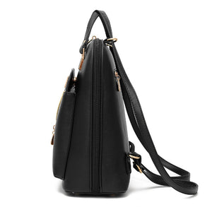 Styleibuy-2019 Women Fashion Backpack PU soft leather casual For Girls -BAG056 - Styleibuy Online Shop