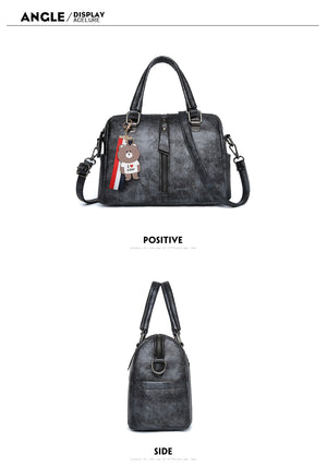 Styleibuy-2019 Women Shoulder Bag Vintage Causal Totes High Quality Dames PU Tassel Handbag -BAG080 - Styleibuy Online Shop
