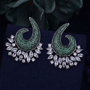 Styleibuy Luxury Cubic Zirconia Earrings For Women Wedding Earrings Shinning Wedding Stud Earring-WE003 - Styleibuy Online Shop