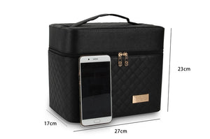 Styleibuy-2019 cosmetic bag  makeup case toiletry  multilayer storage box portable pretty suitcase-BAG105 - Styleibuy Online Shop