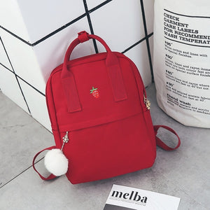 Styleibuy-2019 Women Backpack bags Canvas Fabric Female Bookbag  -BAG004 - Styleibuy Online Shop
