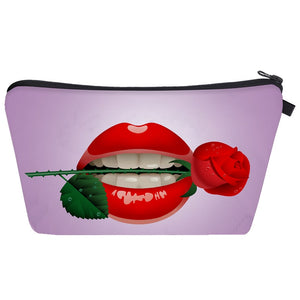 Styleibuy-2019 Women cosmetic bags Fashion 3D Printing Women Flowers Travel Makeup Case --BAG011 - Styleibuy Online Shop