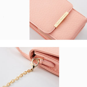 Styleibuy-2019 Women wallets Leather Card Holder Female Shoulder Money Phone Purses  Chain --BAG010 - Styleibuy Online Shop