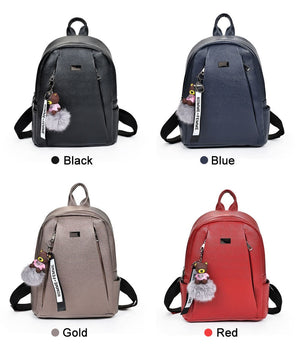Styleibuy-2019 Women Fashion Backpack PU soft leather casual For Girls -BAG052 - Styleibuy Online Shop