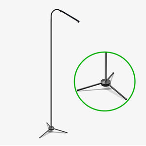 Styleibuy-Modern Touch LED Standing Floor Lamp Reading for Living Room Bedroom with Remote Control 12 Levels Dimmable 3000-6000K Black-F001 - Styleibuy Online Shop