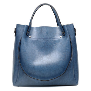 Styleibuy-2019 Women Shoulder Bag Vintage Causal Totes High Quality Dames PU Handbag -BAG073 - Styleibuy Online Shop