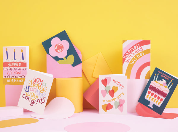 Creating a greeting card collection