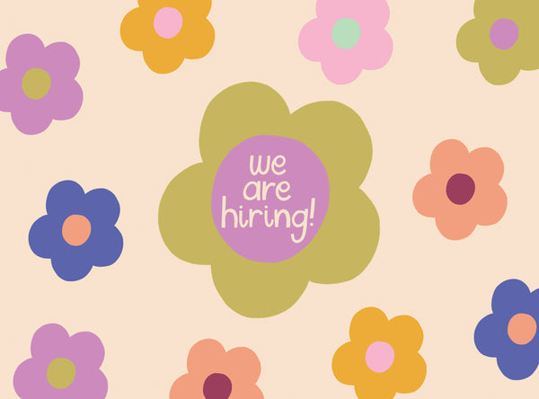 We are hiring! An exciting designer job vacancy to join our team