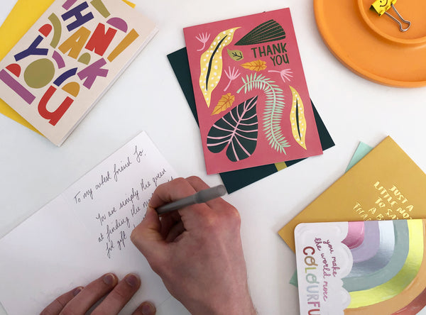 5-step guide to writing the most thoughtful Thank You card
