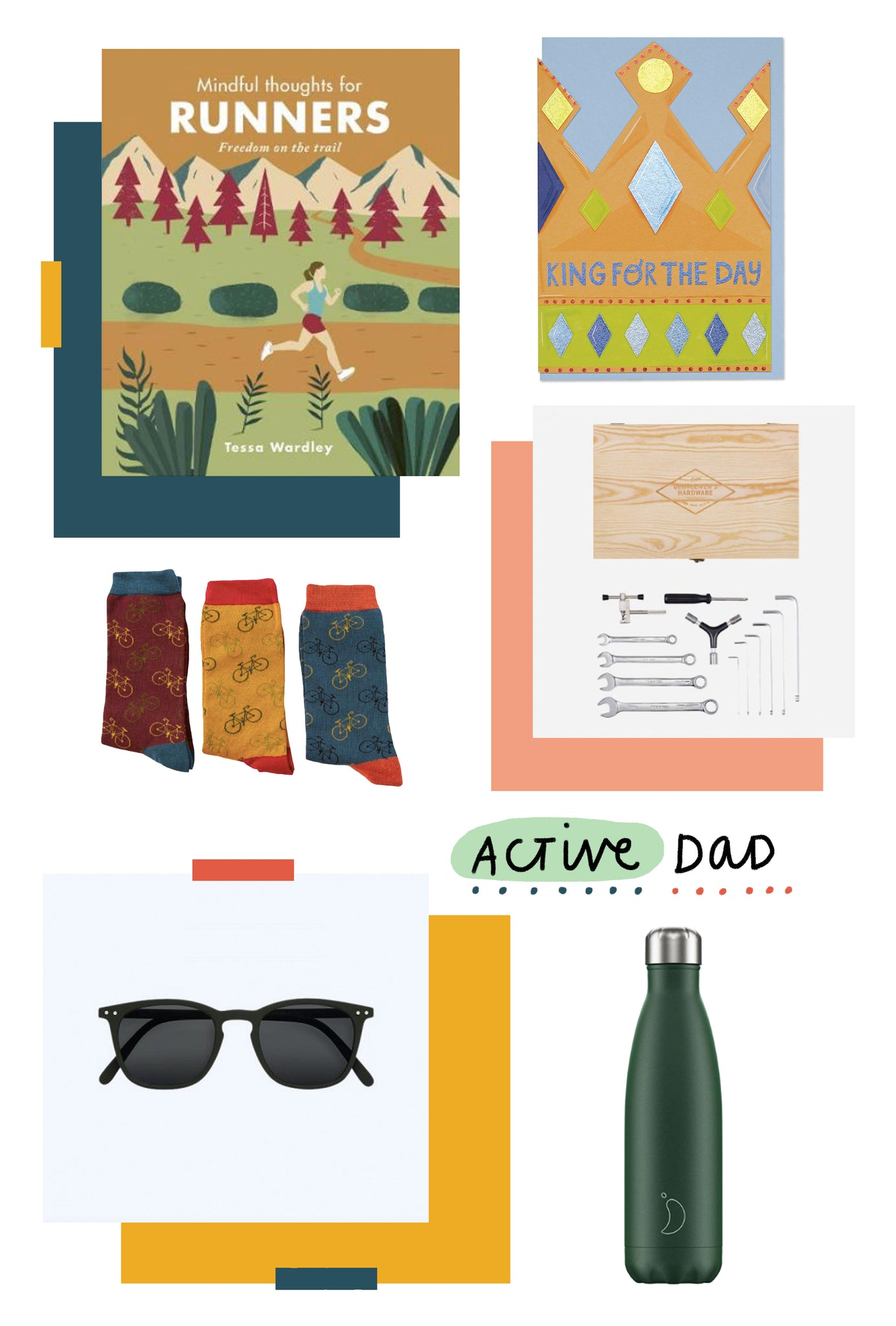 Father's day gift guide for active Dads | Raspberry Blossom