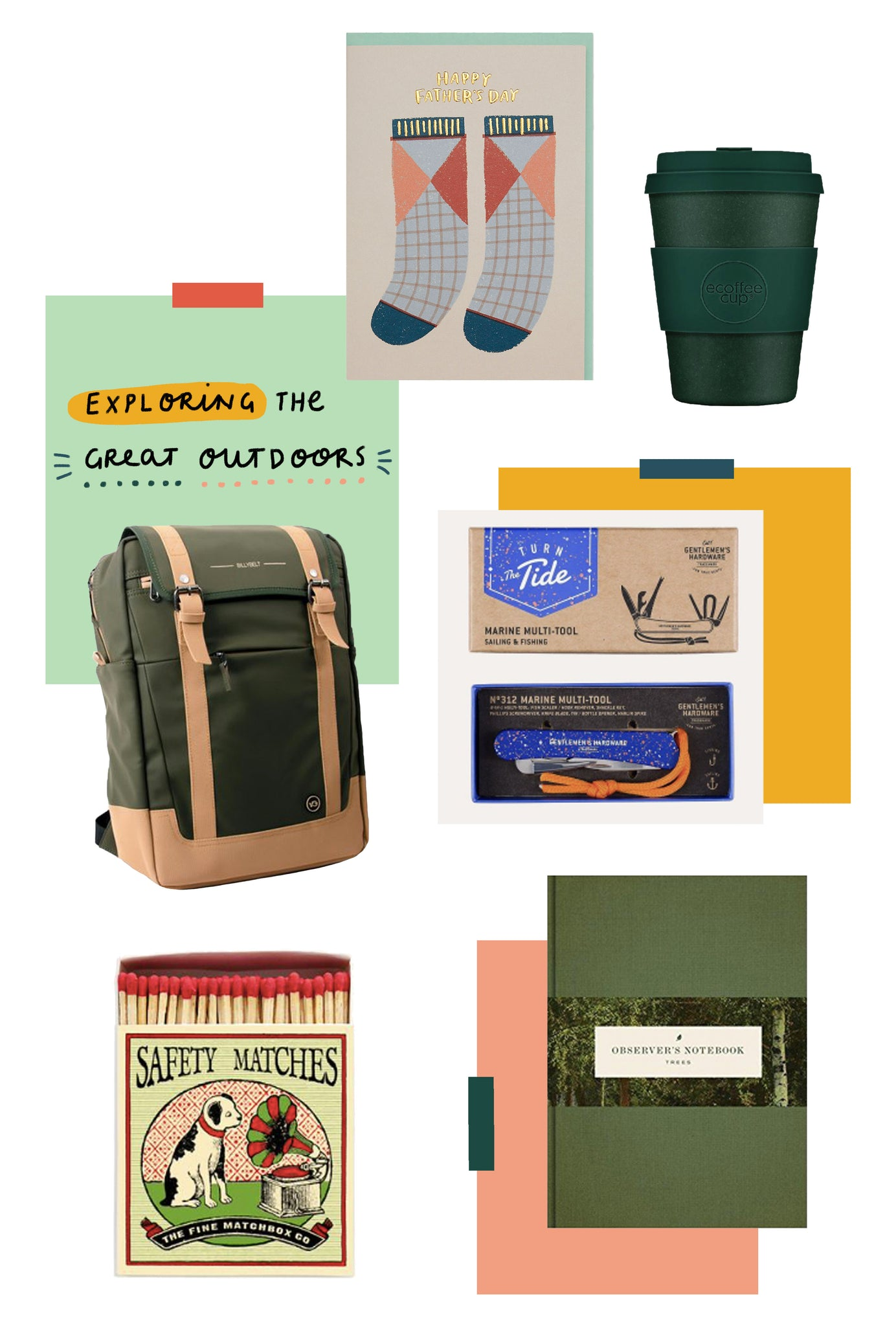 Father's day gift guide for the great outdoors lover | Raspberry Blossom