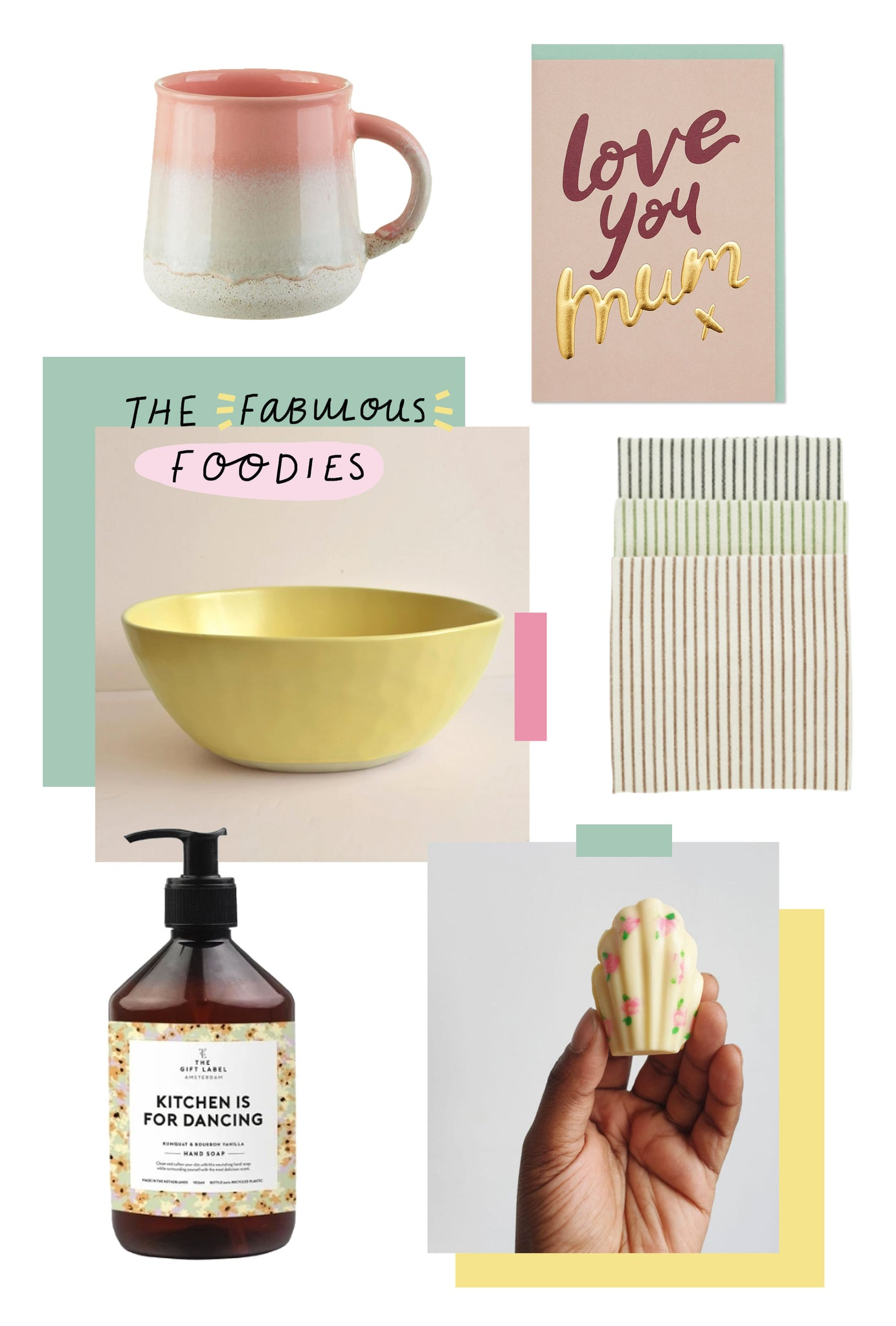 Fabulous Foodies Selection | Mother's Day Gift Guide | Raspberry Blossom