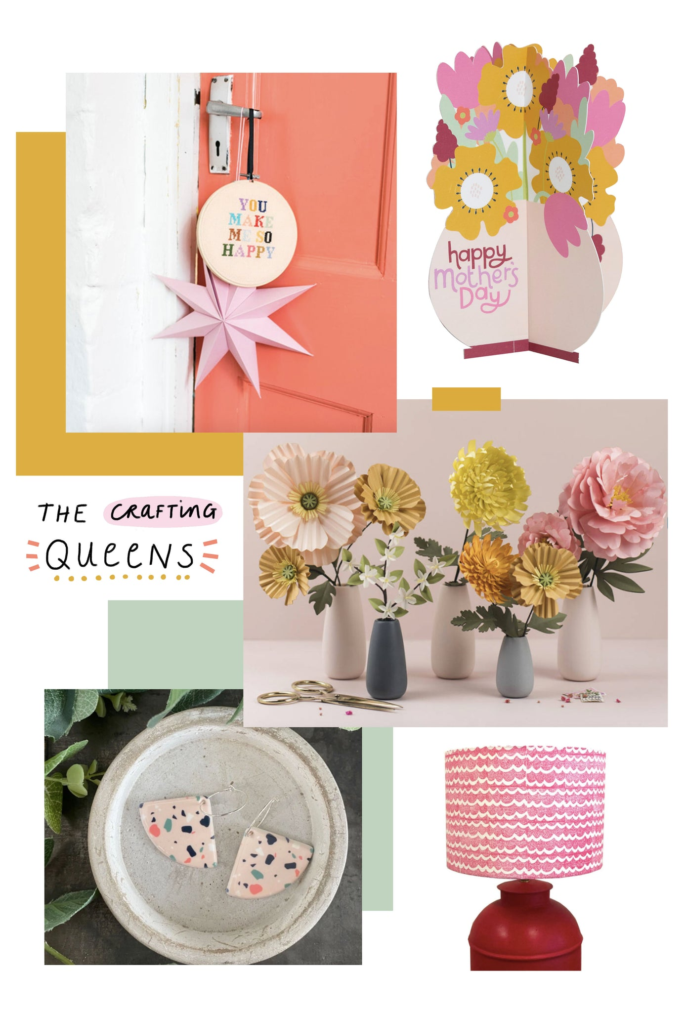 Crafting Queens | Mother's Day Gift Guide 2021 | Raspberry Blossom