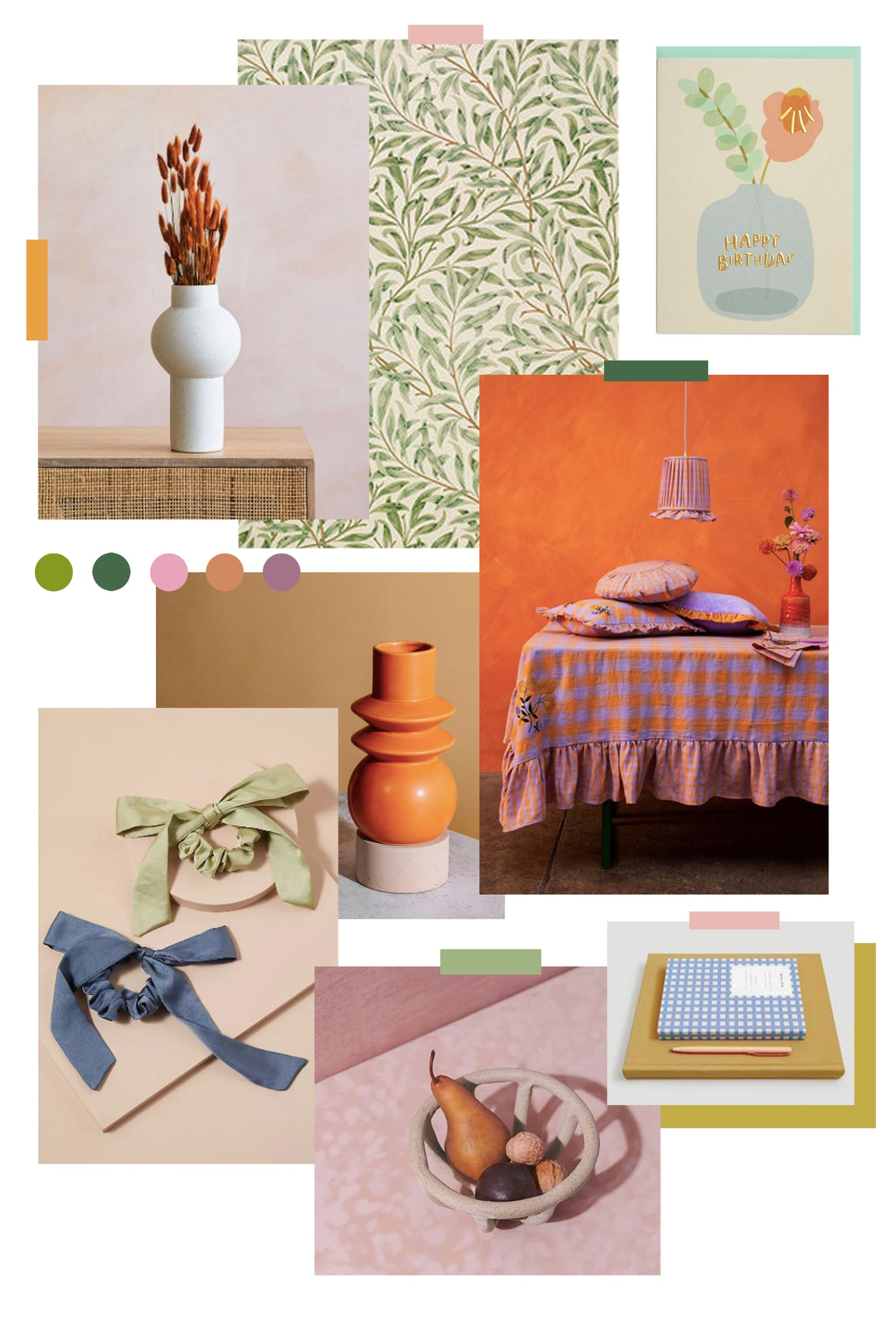 Trend Forecast: Cottage Cool Mood Board | Raspberry Blossom