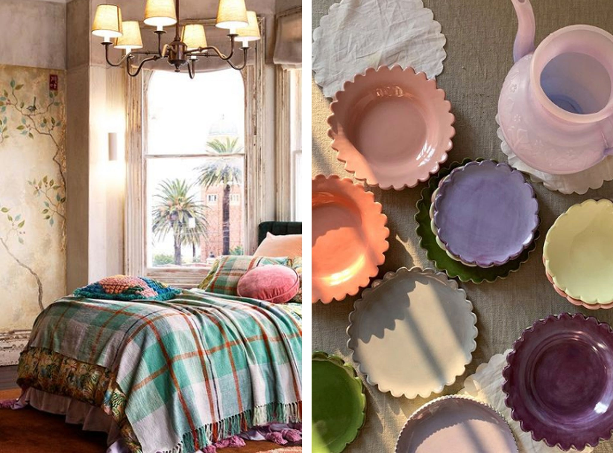 Trend Forecast: Cottage Cool Ceramics and Linen | Raspberry Blossom