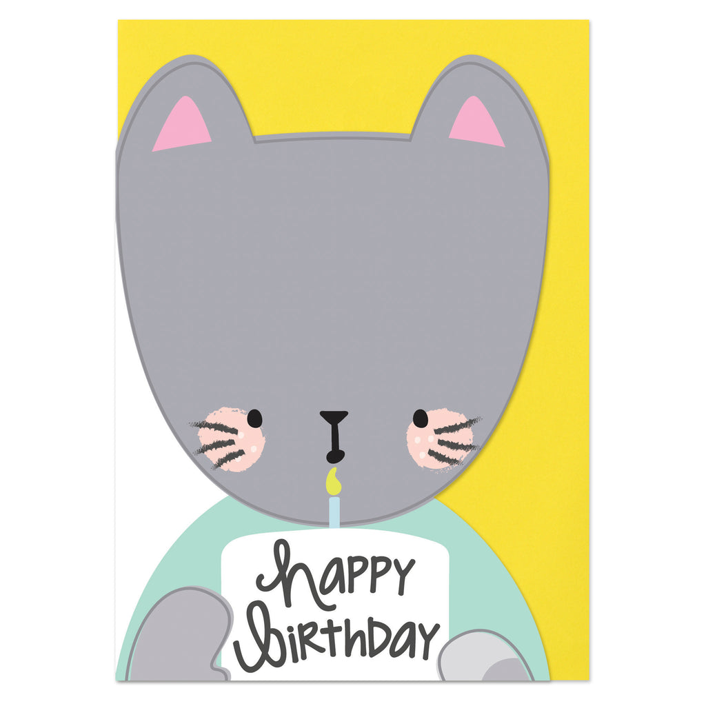 Happy Birthday - Cat