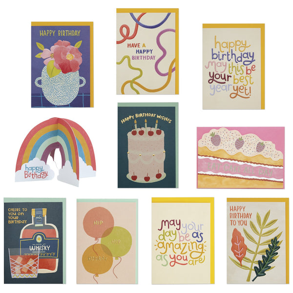 Birthday Card Pack 2