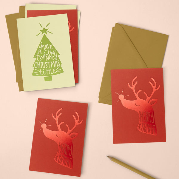 Merry & bright and Have a twinkly Christmas time pack