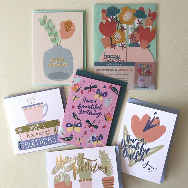 Female Birthday Card Pack