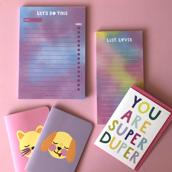 Colourful & Cute Stationery & Card Letterbox Gift