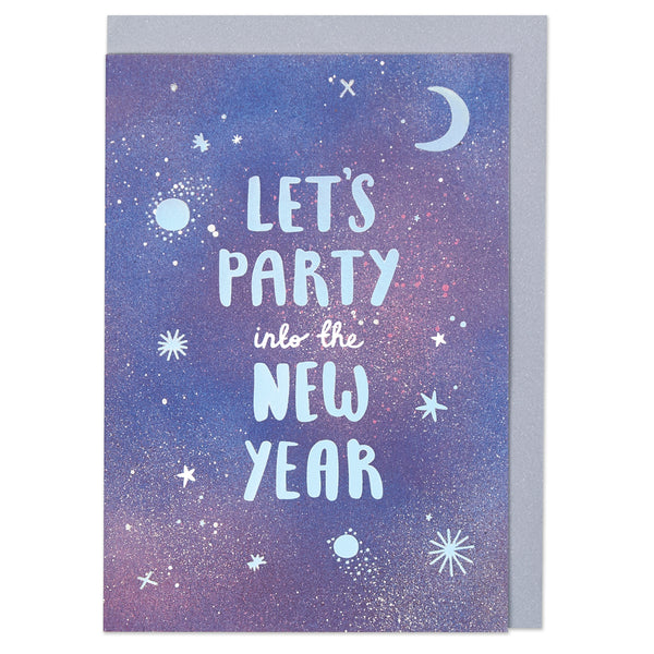 Let's party into the New Year