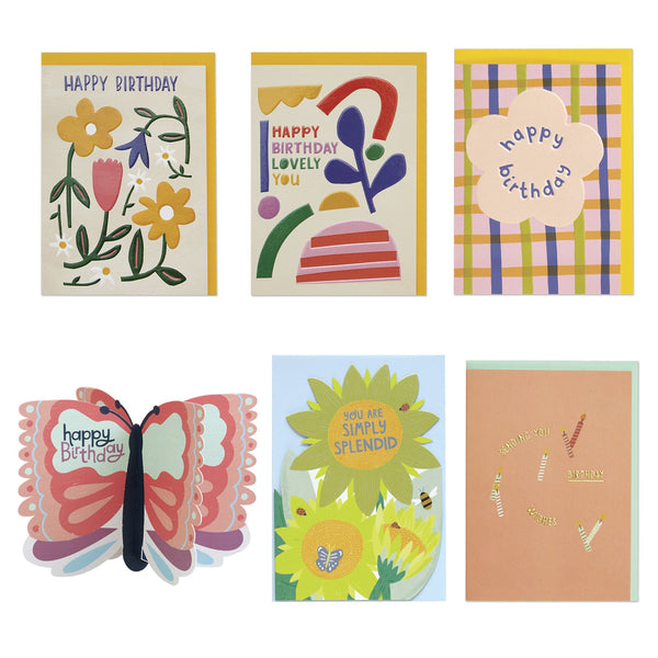 Female Birthday Card Pack 2