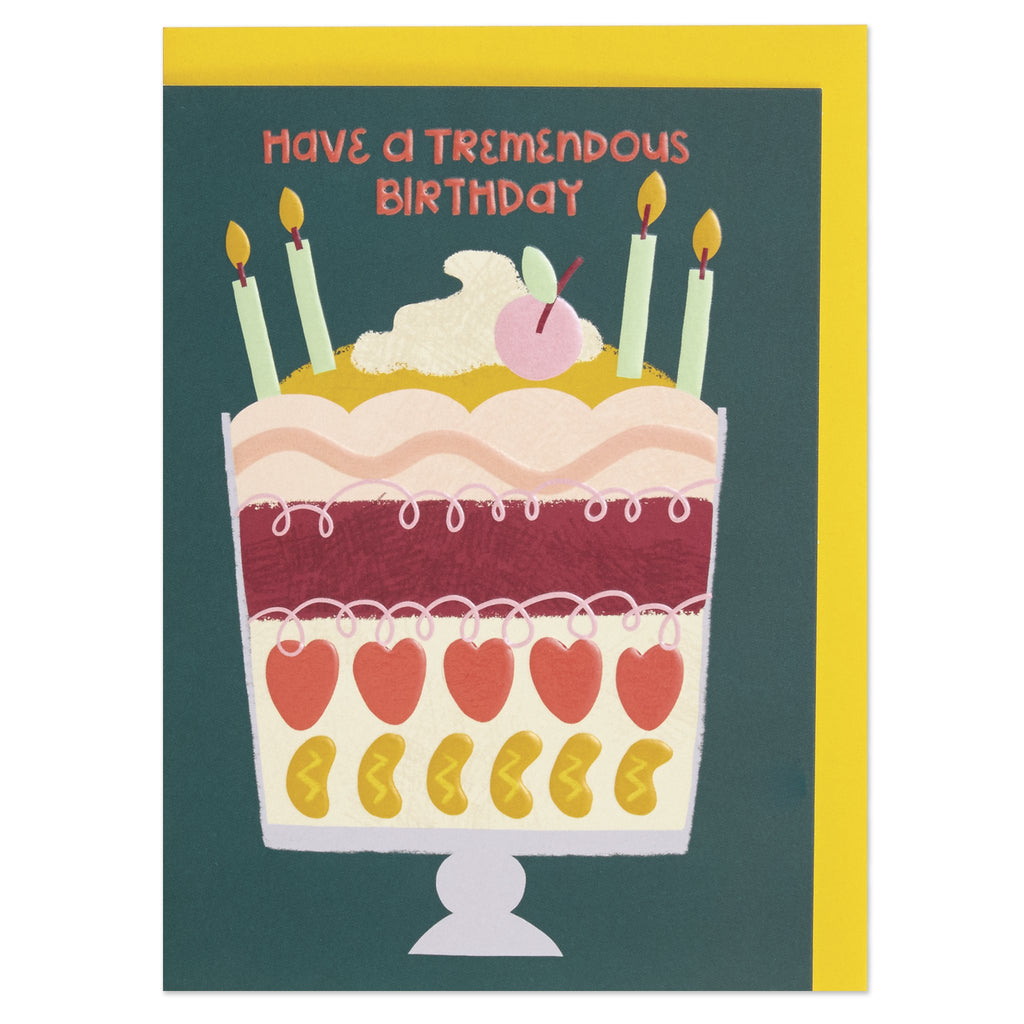 Have a tremendous Birthday Card