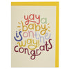 Yay a baby is on the way! congrats Card