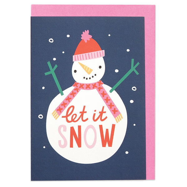 Let it snow and Festive cheer & happy New Year Christmas pack