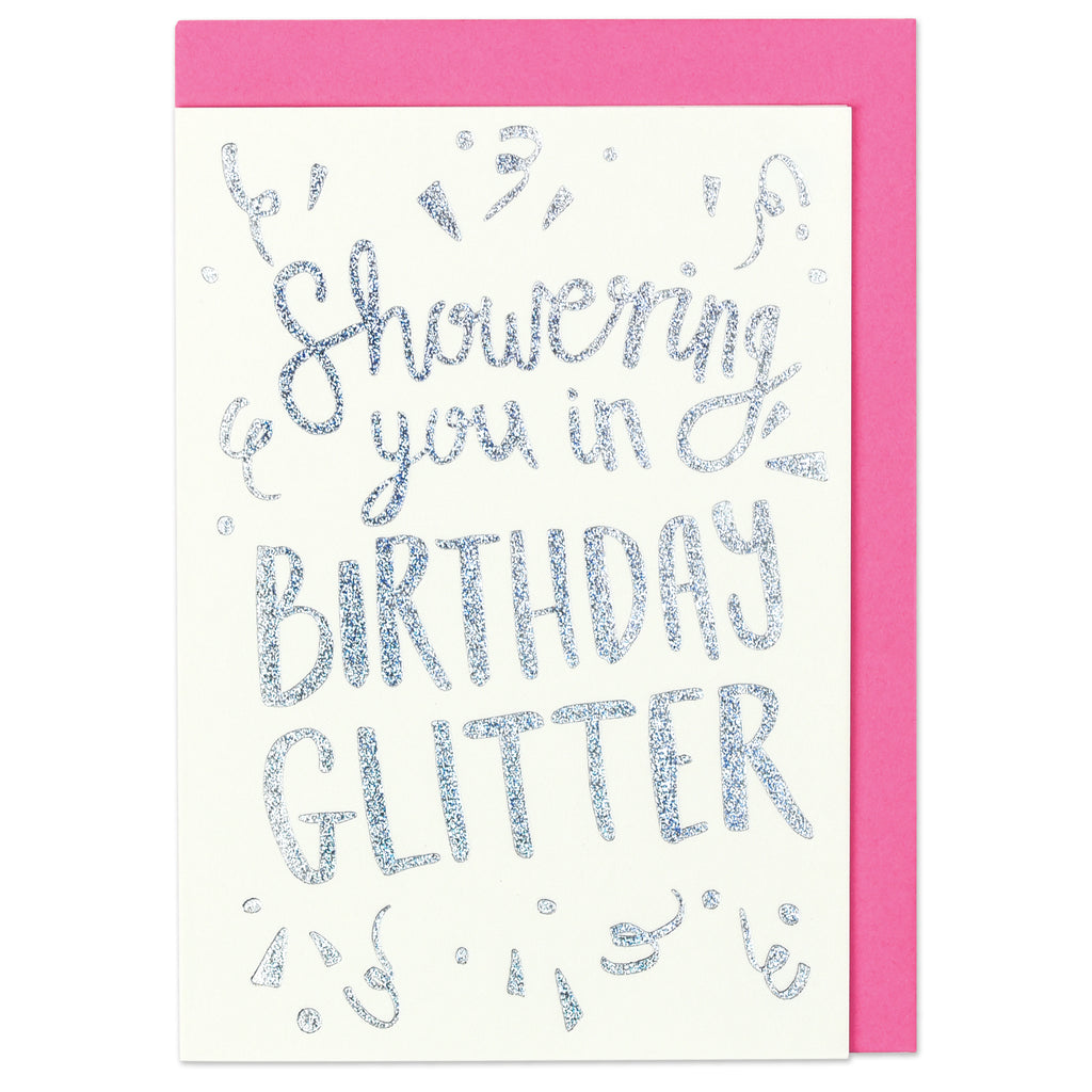 Showering you in Birthday glitter