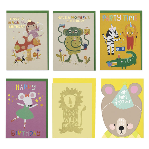Kids Birthday Card Pack