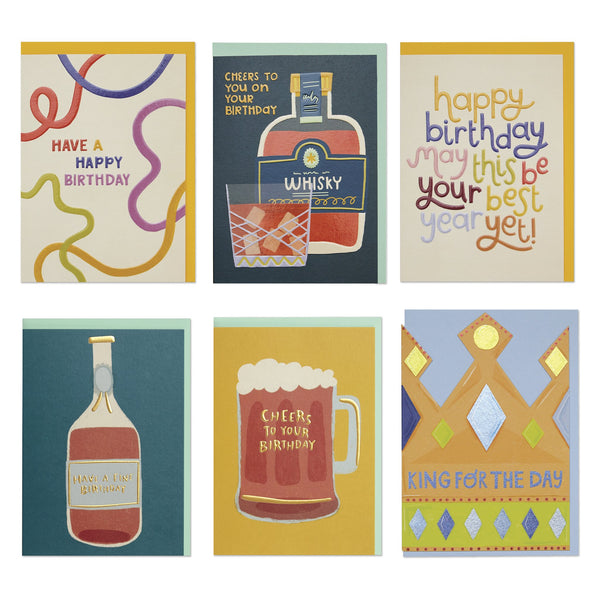 Male Birthday Card Pack 2