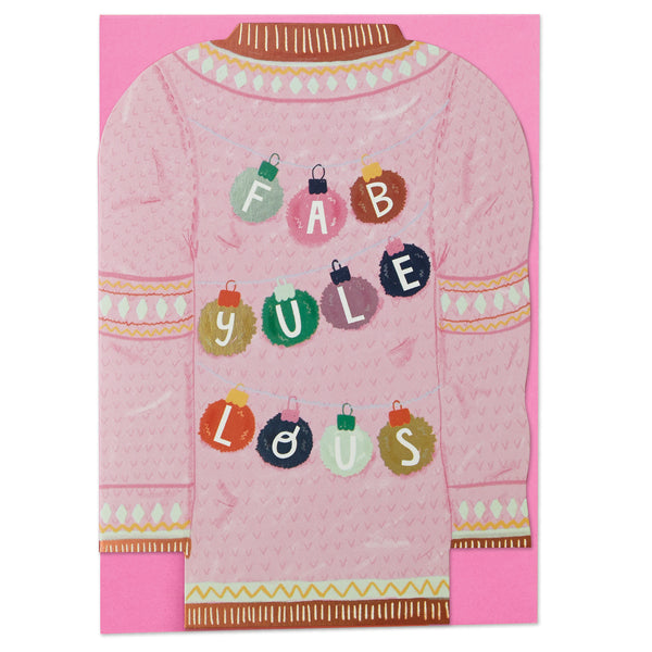 Fab-yule-lous and May Christmas joy fill your home Christmas pack