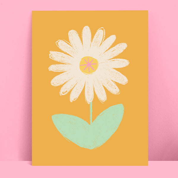 Daisy Illustration Print