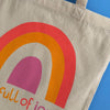 'I'm full of joy' Tote Bag