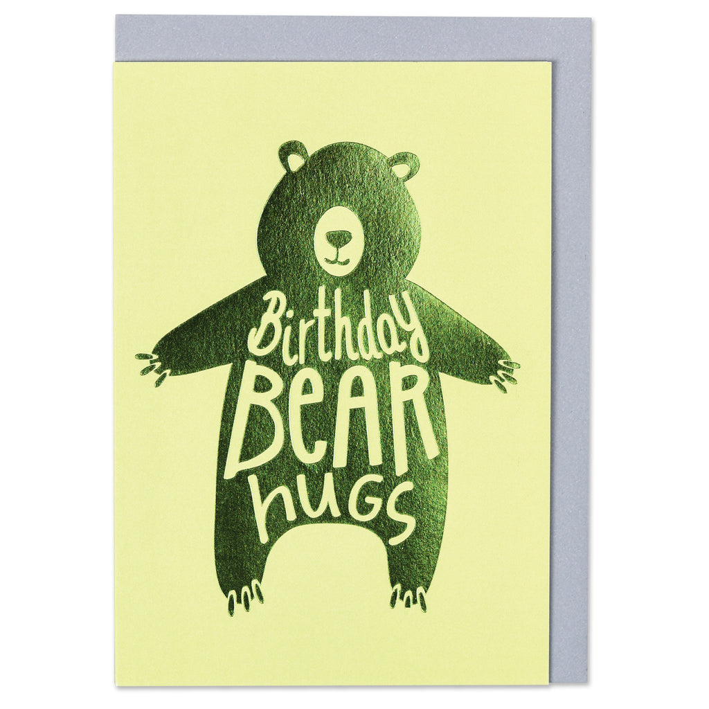 Birthday bear hugs