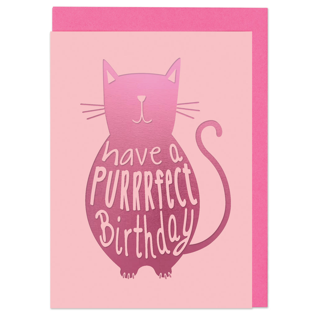 Have a purrrfect Birthday Card