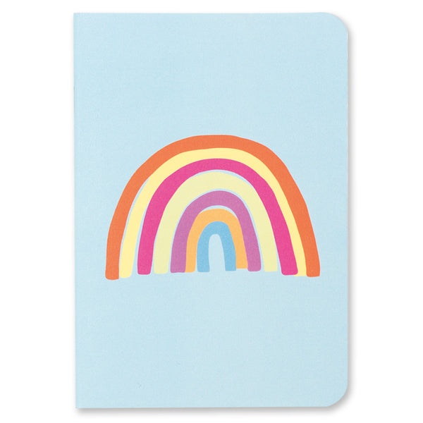 A6 Dinky Notebooks - Rainbow and Donut