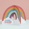 Happy Birthday Card - Rainbow