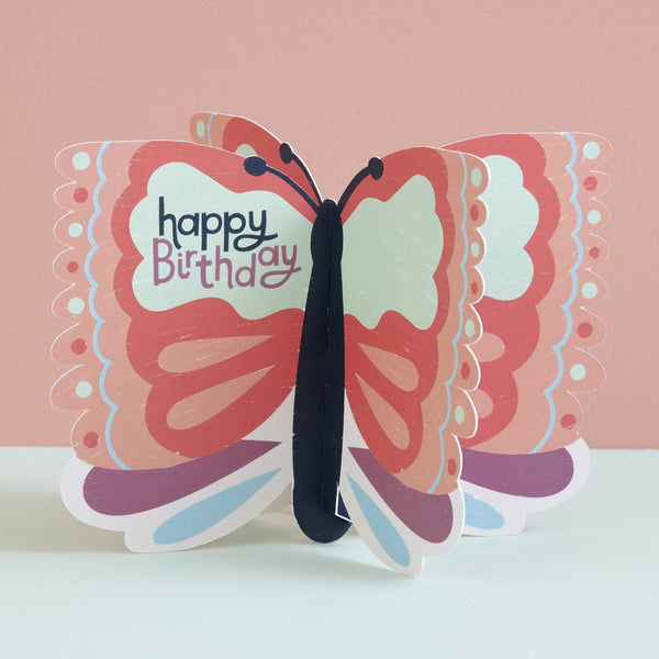 Happy Birthday Card - Butterfly