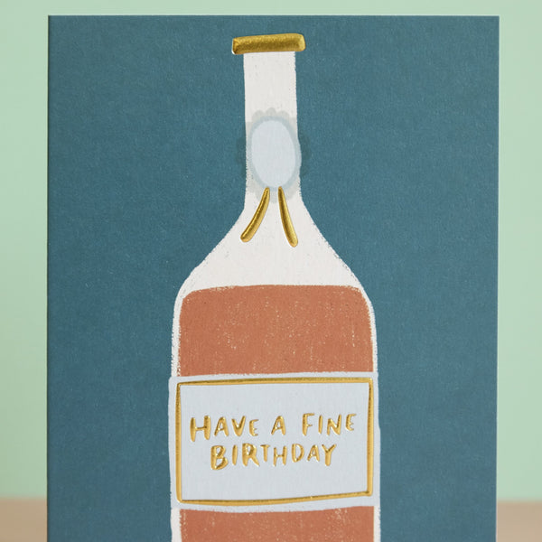 Have a fine Birthday Card