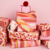 Canvas wrap - festive dotty