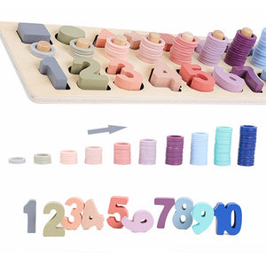Geometric Shape and Number Cognition Toy